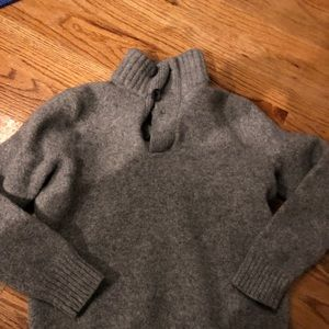 Other - Boys Grey Wool Sweater Express Small